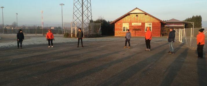 Šola zdravja – V mrzlem jutru telovadimo skupaj